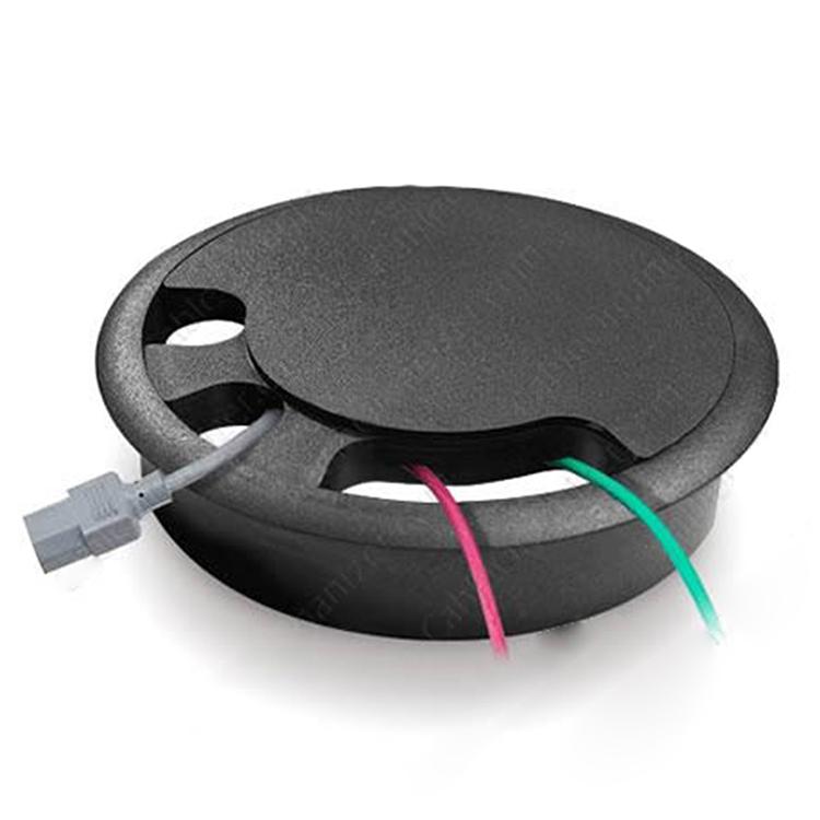 Passe-câble rond pour sol